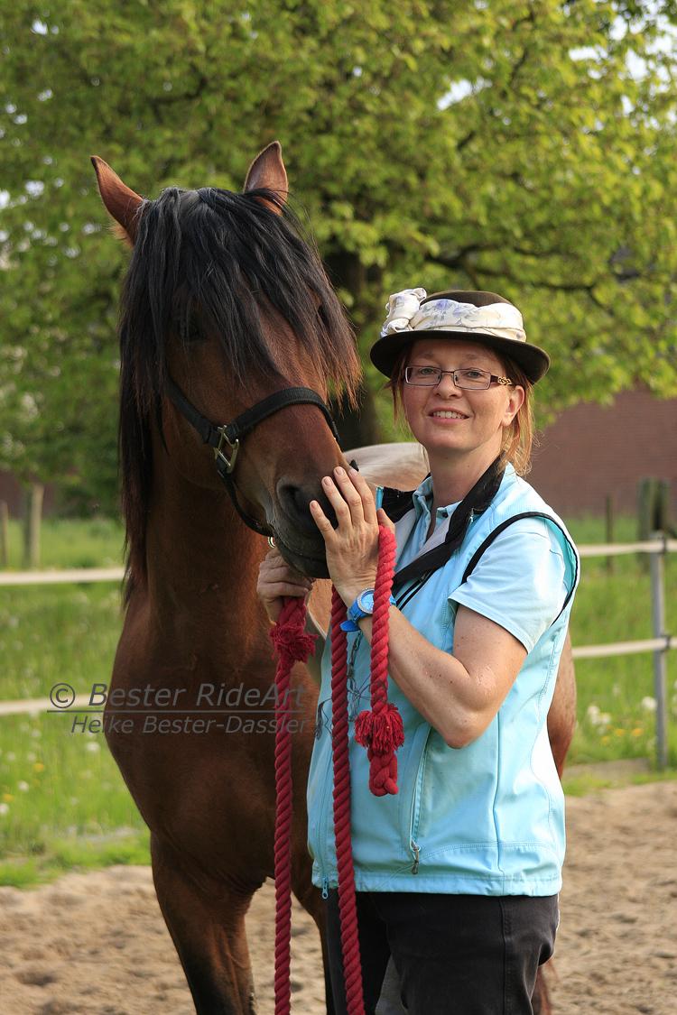 Heike und Rayo_1 Öffentliches Training 04_2014